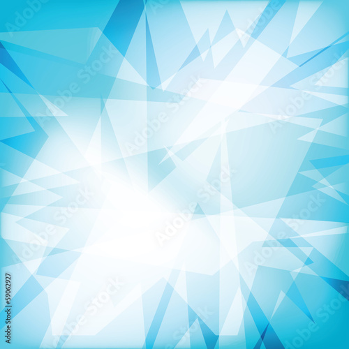 Abstract futuristy crystal background