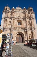 Santo Domingo Church in San Cristobal de las Casas, Mexico