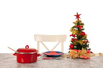 Christmas dinner for one