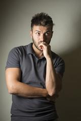 Fashion male portrait