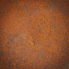 rusty iron metal plate background