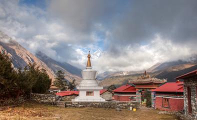 Trekking around Everest Foothill Nepal