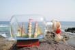 Sailing Ship in the Bottle