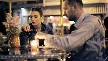 Husband getting reprimand because of his smoking habit
