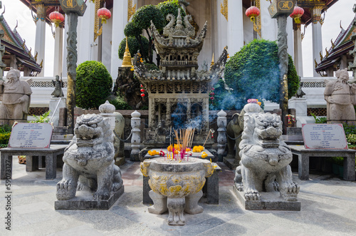 stoned Chinese shrine