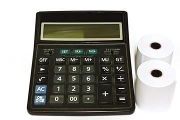 calculator roll