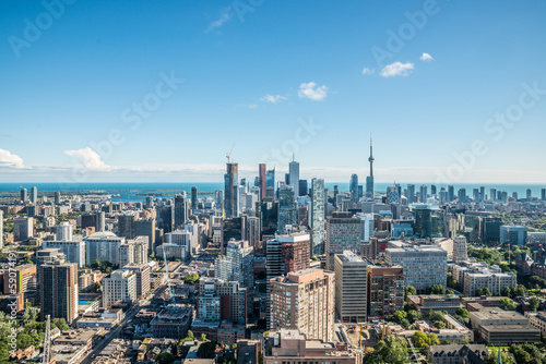 Leinwandbild Motiv Scenic view of downtown Toronto