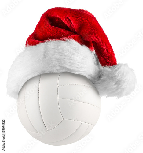 volleyball santa hat