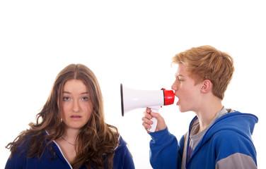 Mädchen und Junge – Unverständnis