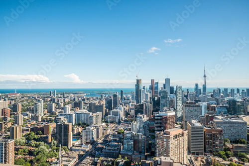 Poster Scenic view of downtown Toronto