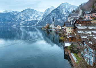 Hallstatt winter view (Austria)