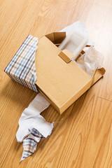 Unwrap of present