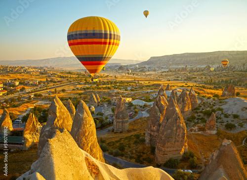 Canvas Ballon Cappadocia. Turkey
