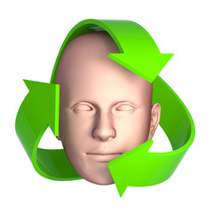 3d Recycle head
