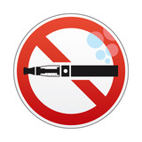 E-cigarette prohibited
