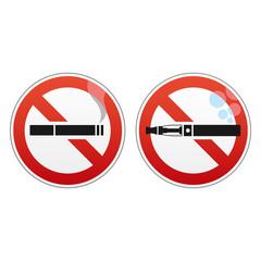 Cigarette et E-cigarette Interdites