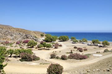Strand am Eingang der Tripiti Schlucht auf Kreta