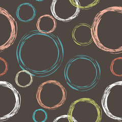 abstract seamless with circles