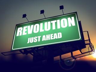 Revolution Just Ahead on Billboard.