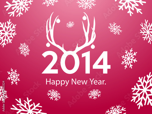 2014 Happy New Year background.