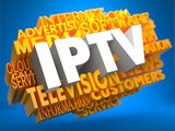 IPTV. Wordcloud Concept.