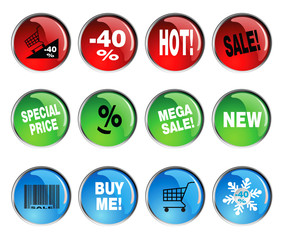 round icon sets