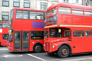 Old and New Bus