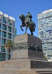 Artigas Denkmal, Montevideo