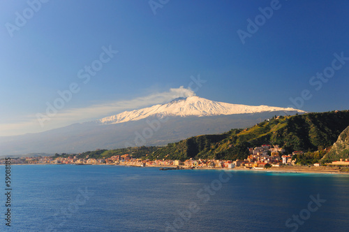 Foto op Canvas Vulkaan Etna Sicilia