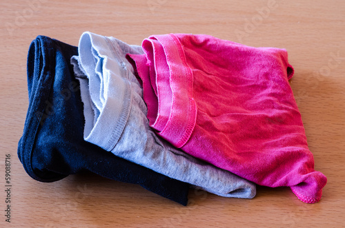 colorated underwear