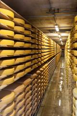 Magazzino per stagionatura  del formaggio