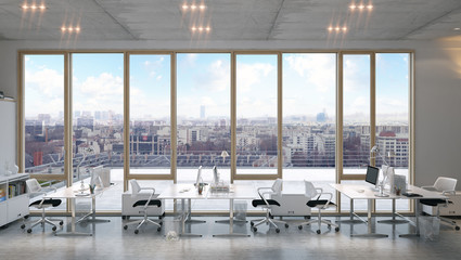 Büro mit Ausblick - Office with panarama view