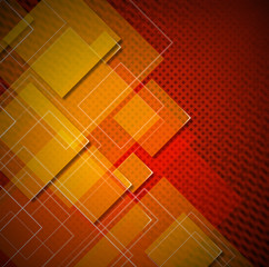 Squares Abstract Background