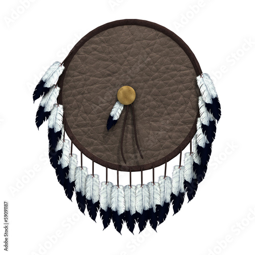 Native American War Shield