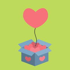 balloons of love