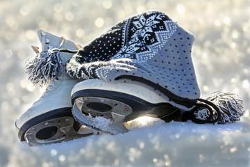 Wintersport - Schlittschuhe