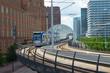 modern tram track - 59093561