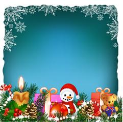 Christmas decoration , greeting card