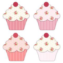 Cupcake retro applique 5