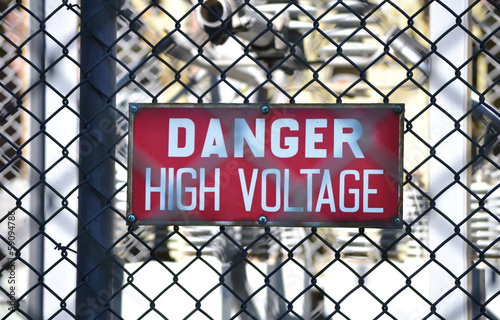 High Voltage Sign 2