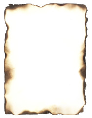 Burned Edges Frame