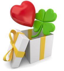 Liebe und Glück schenken