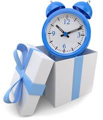 Zeit schenken blue