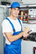 electrician worker inspector