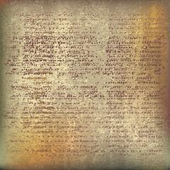 Ancient Parchment.