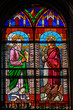 Evangelists Matthew and John - Stained Glass