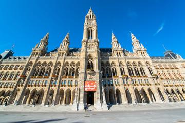 The City Hall of Vienna, Austria
