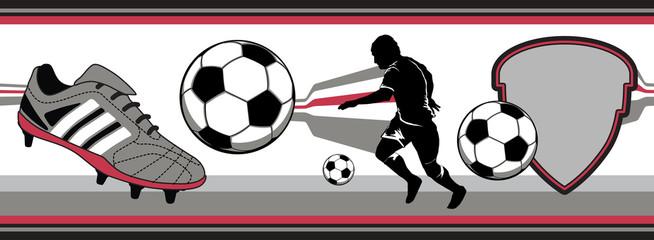 Chuteira e Futebol