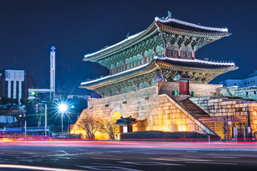 Namdaemun Gate in Seoul, South Korea