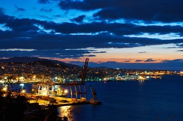 Vigo at night